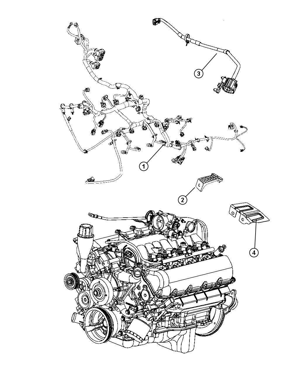 Dodge Ram Wiring Engine Bad Dh3 Elec Case