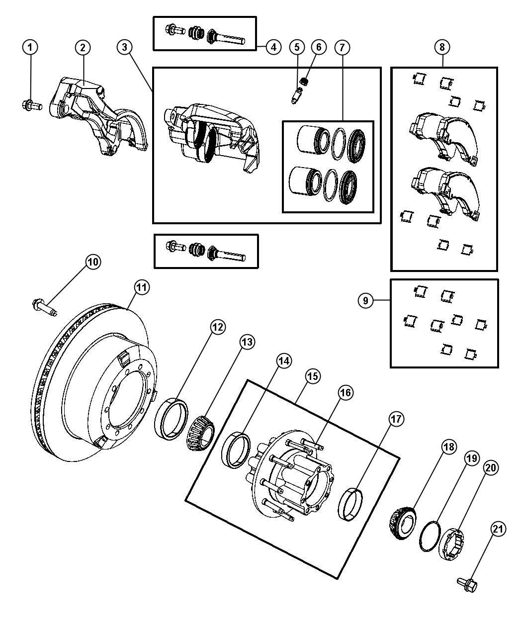Dodge Ram Stud Hub 71 0mm Axle Rear Ratio
