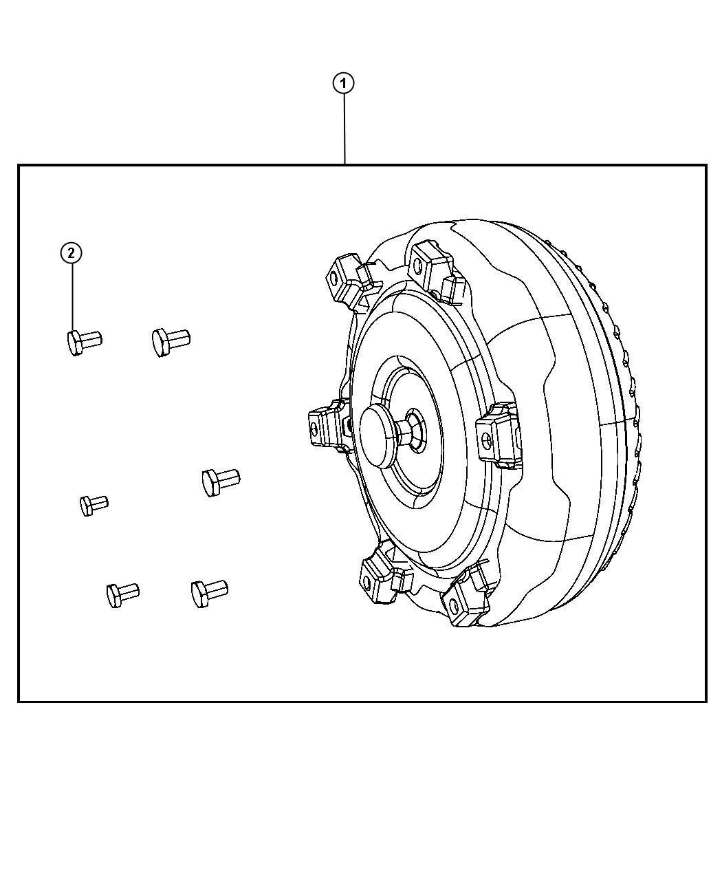 Dodge Ram Converter Kit Torque Remanufactured