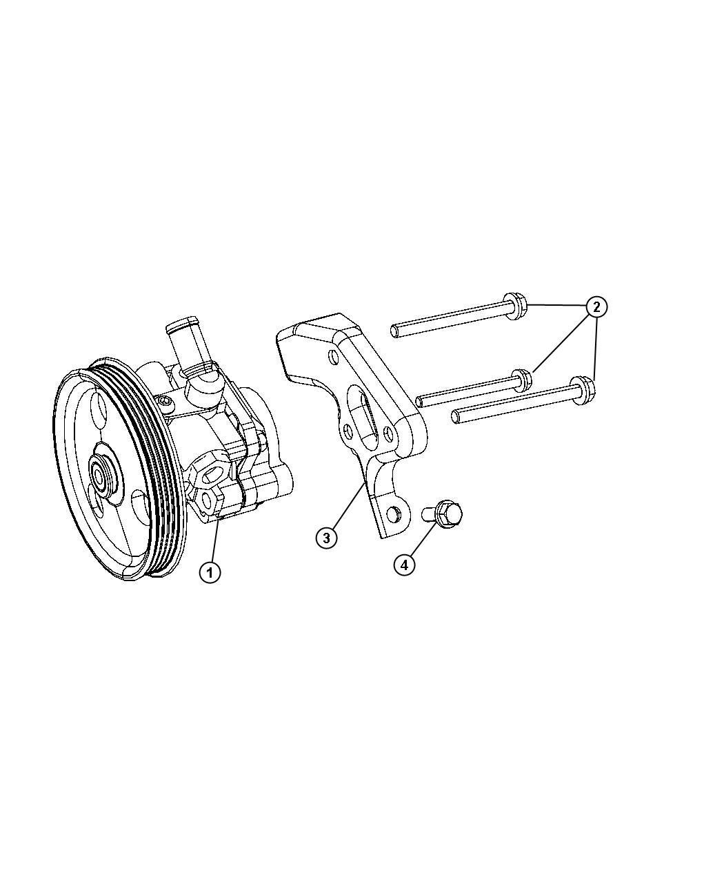 Chrysler Pt Cruiser Pump Remanufactured Power