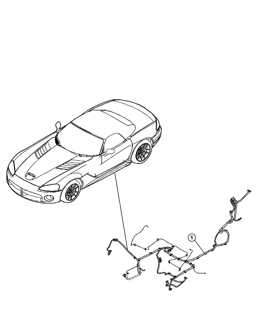 Dodge Viper Wiring Underbody
