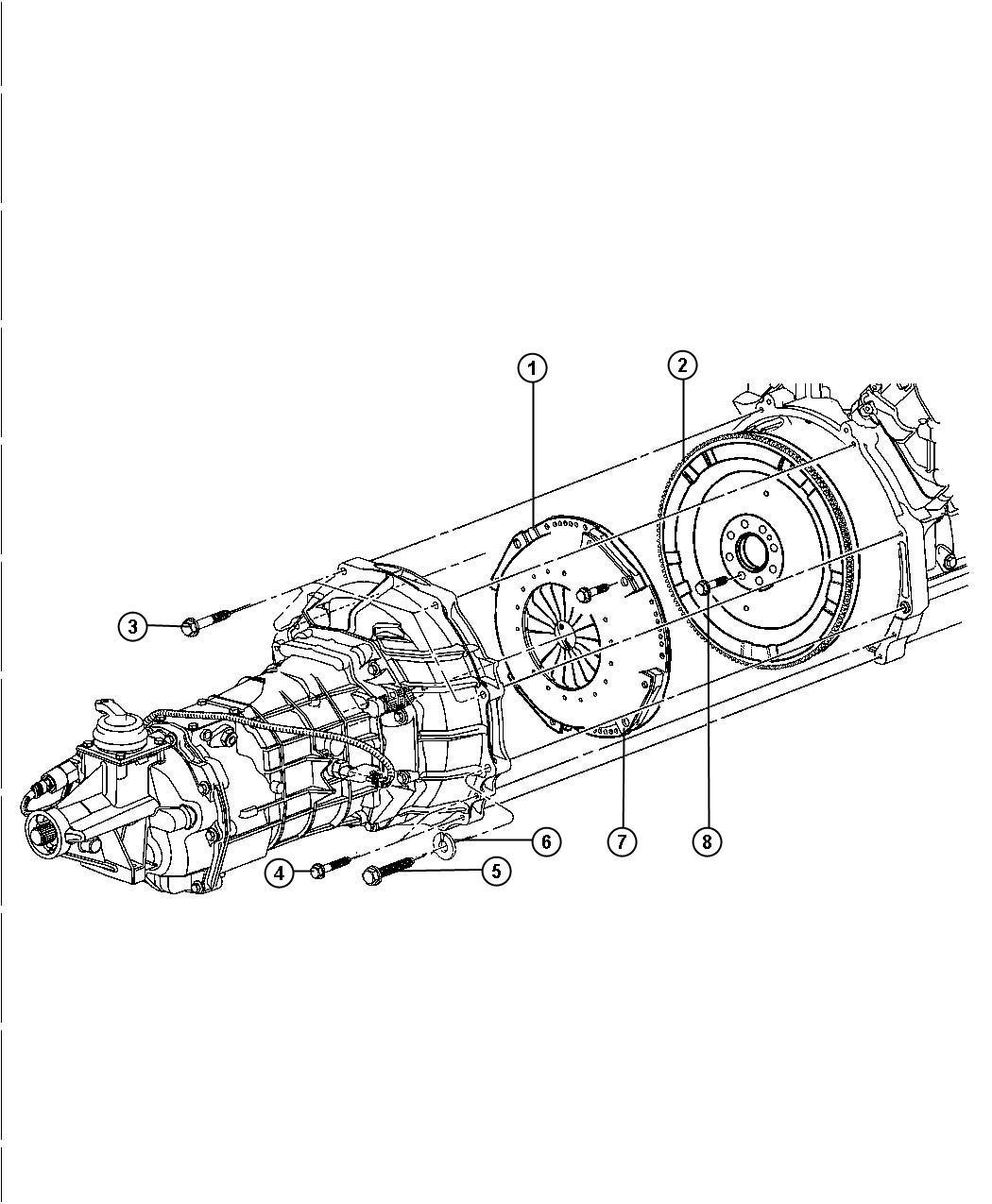 Dodge Viper Bolt Screw Hex Head Locking M10x1