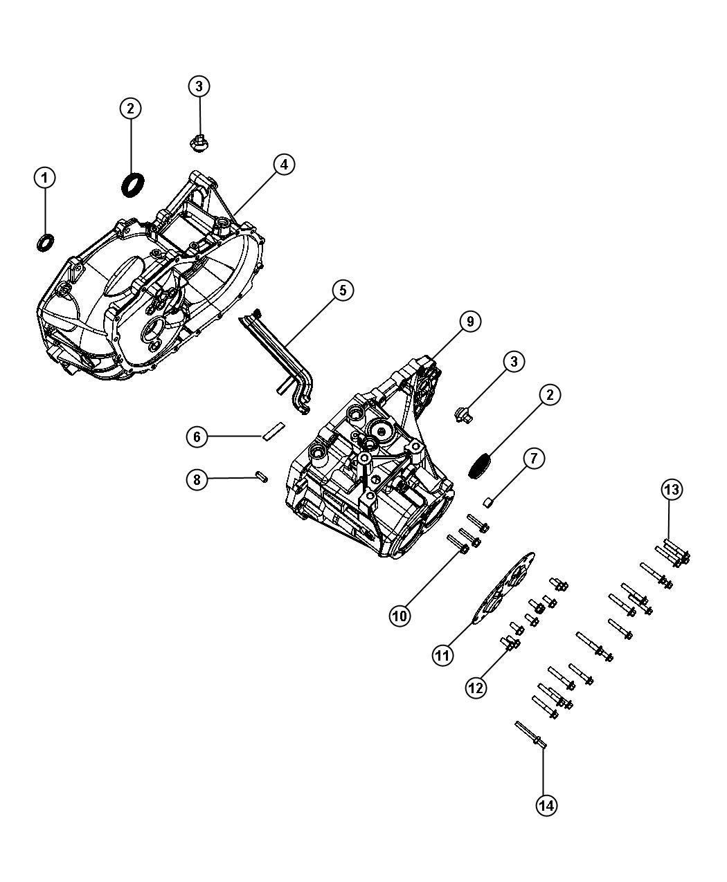Jeep Compass Case Transmission Power Train Module