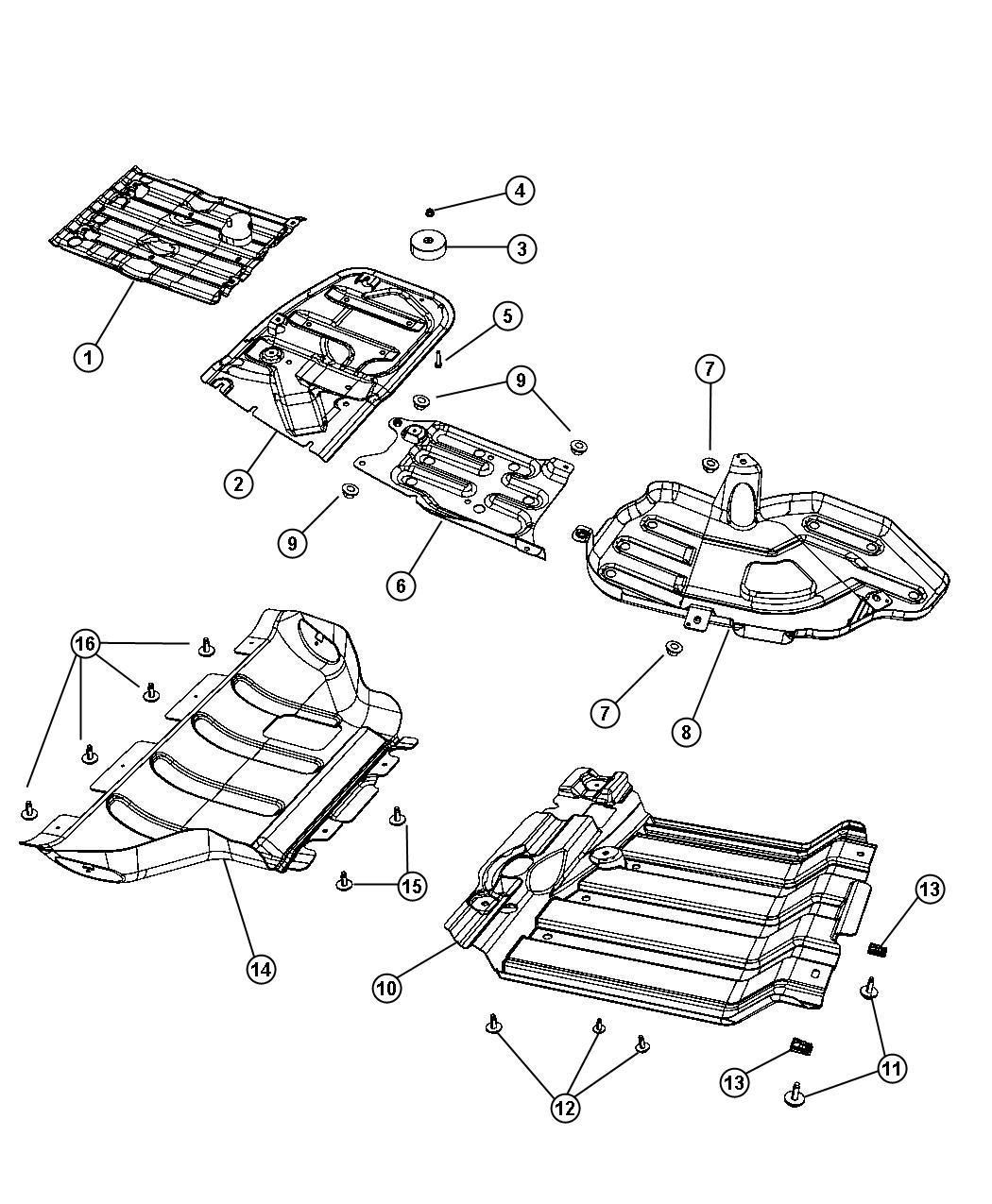 Jeep Grand Cherokee Skid Plate Transfer Case X3f