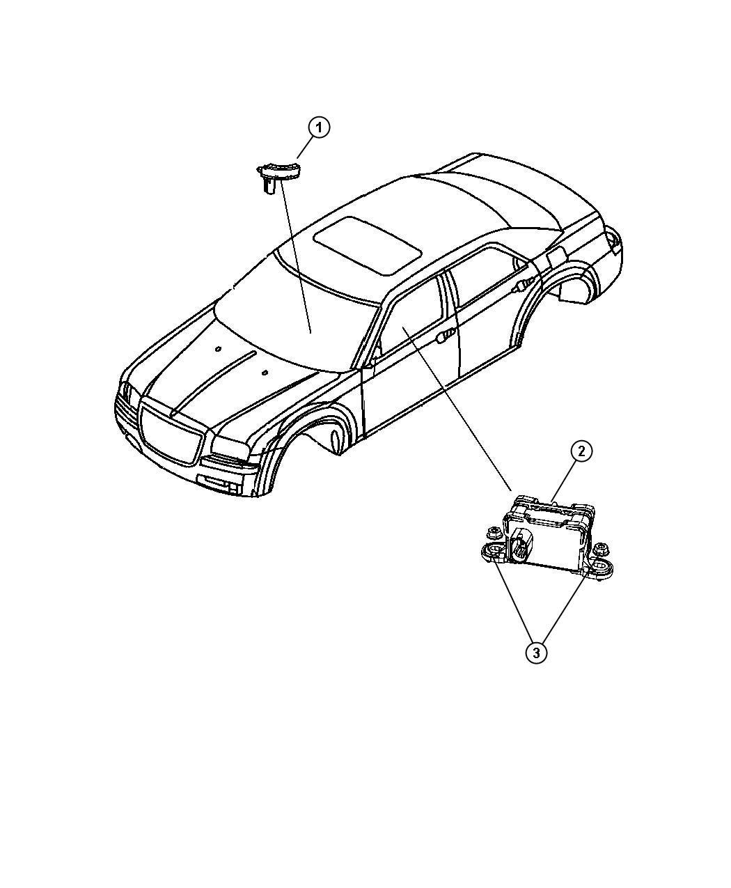 Dodge Charger Module Sensor Dynamics Electronic