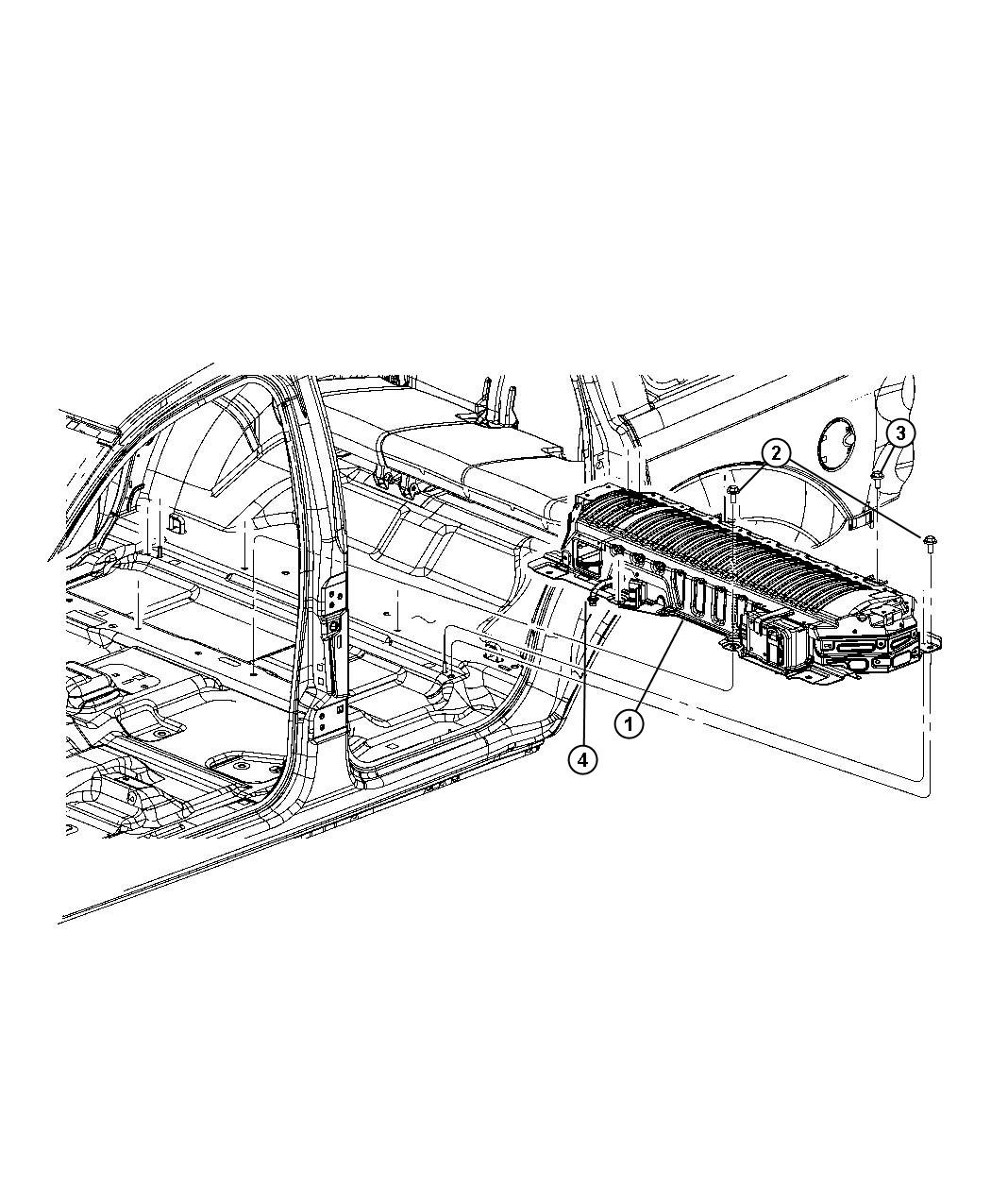 Chrysler Pacifica L Hybrid Used For Screw And Washer Hex