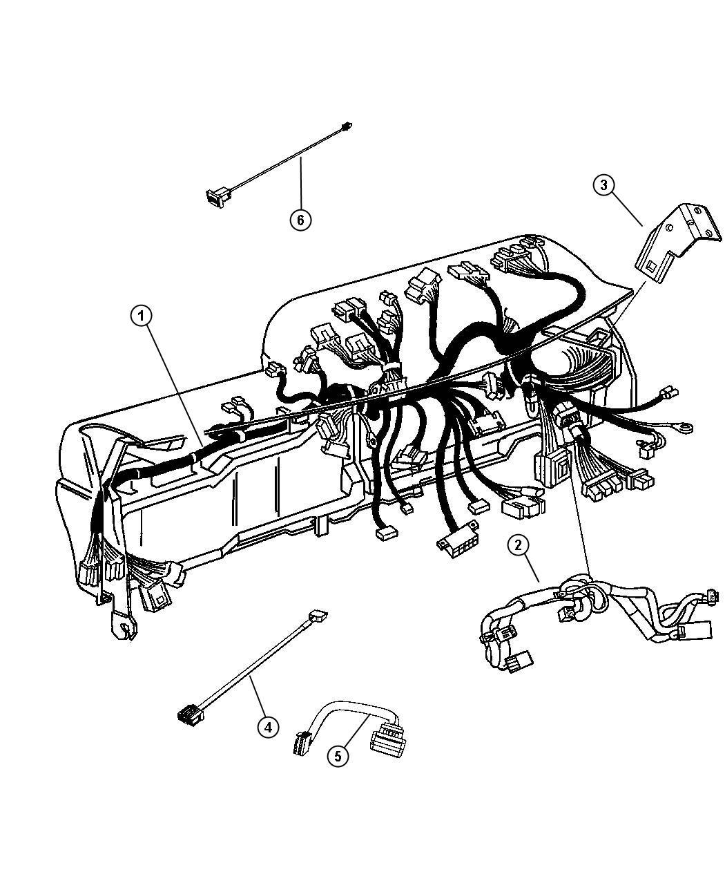 Ram Wiring Jumper Telematics Module