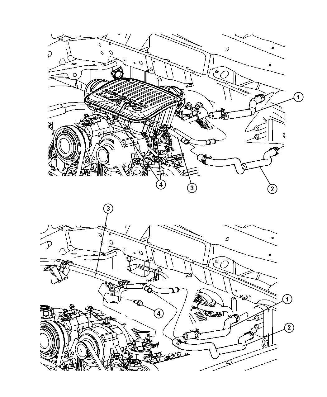 Dodge Dakota Used For Hose And Tube Used For Heater