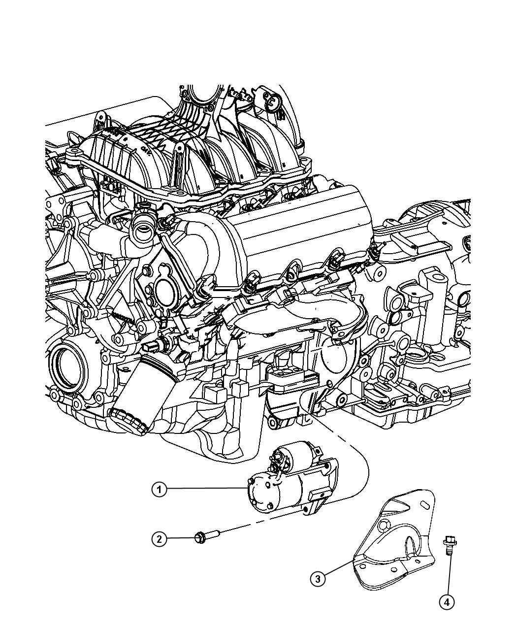Jeep Liberty Starter Engine After 10 22 08