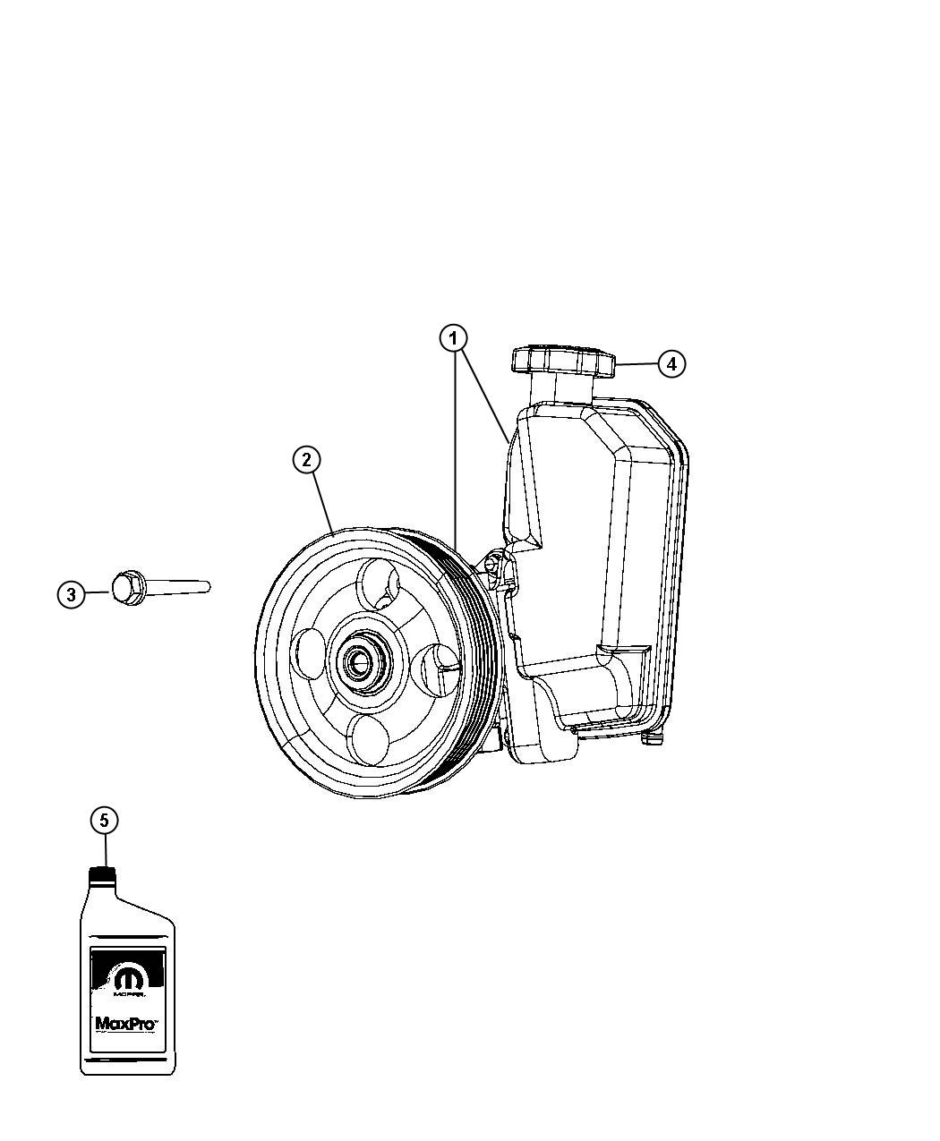 Jeep Liberty Pulley Power Steering Pump Pulleys