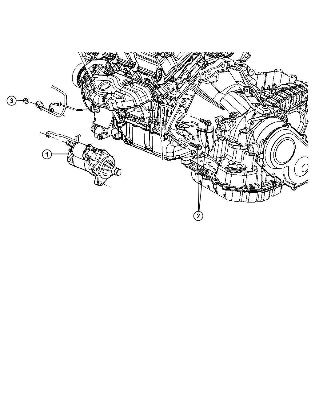 Chrysler Sebring Starter Engine Remanufactured Power