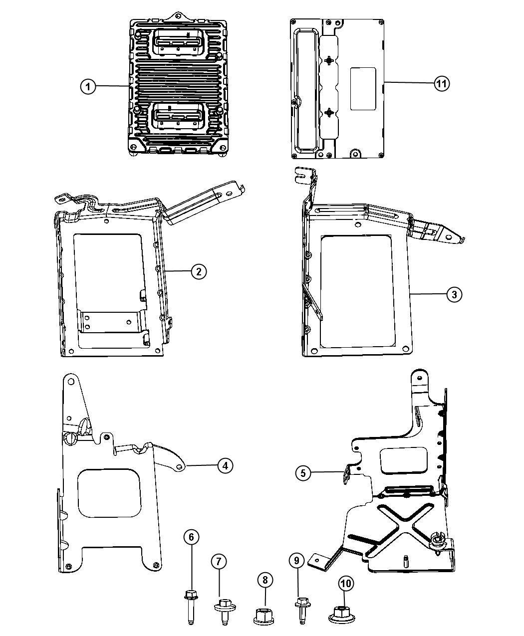 Chrysler 200 Module Remanufactured Powertrain