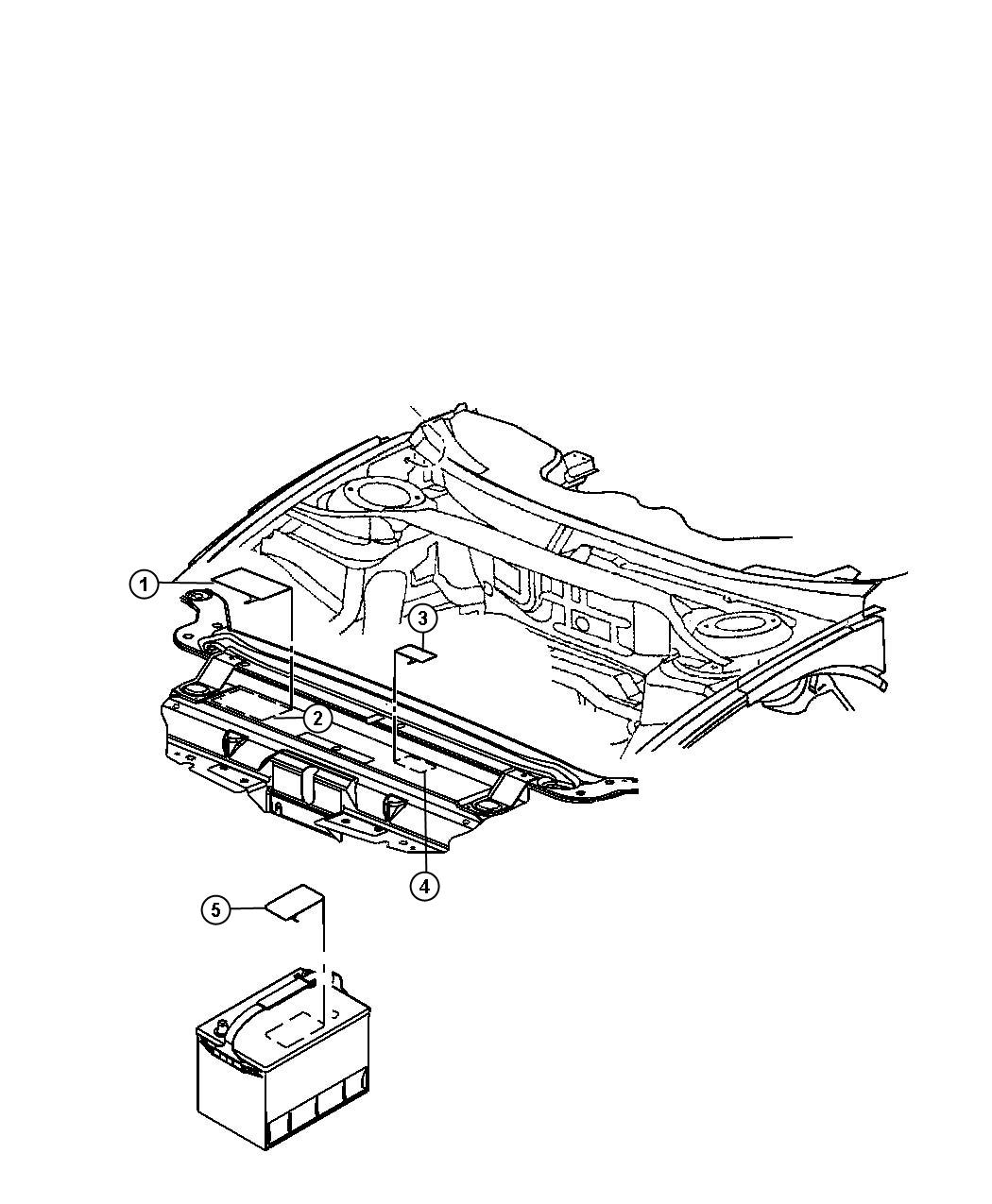 Jeep Wrangler Label Coolant System Cap Radiator