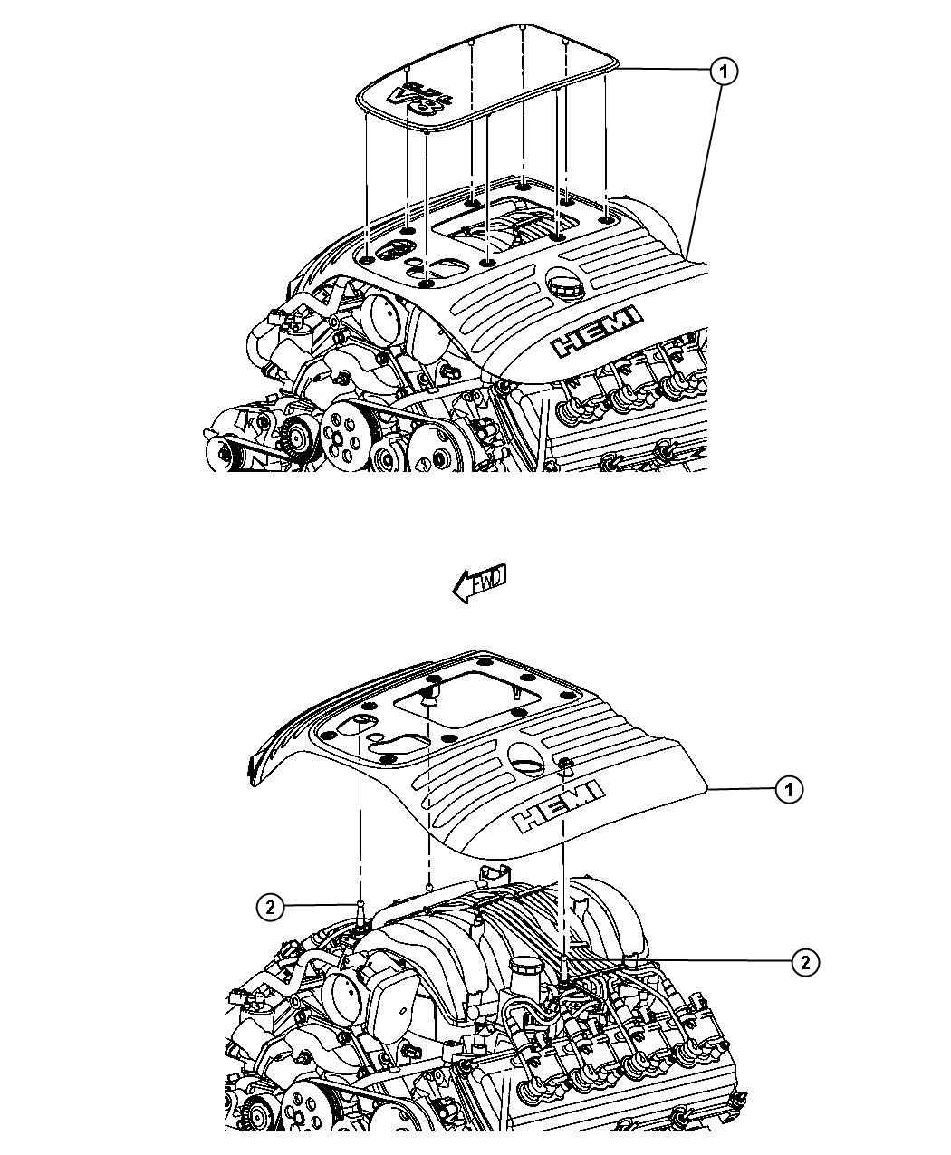 Dodge Cover Engine Related