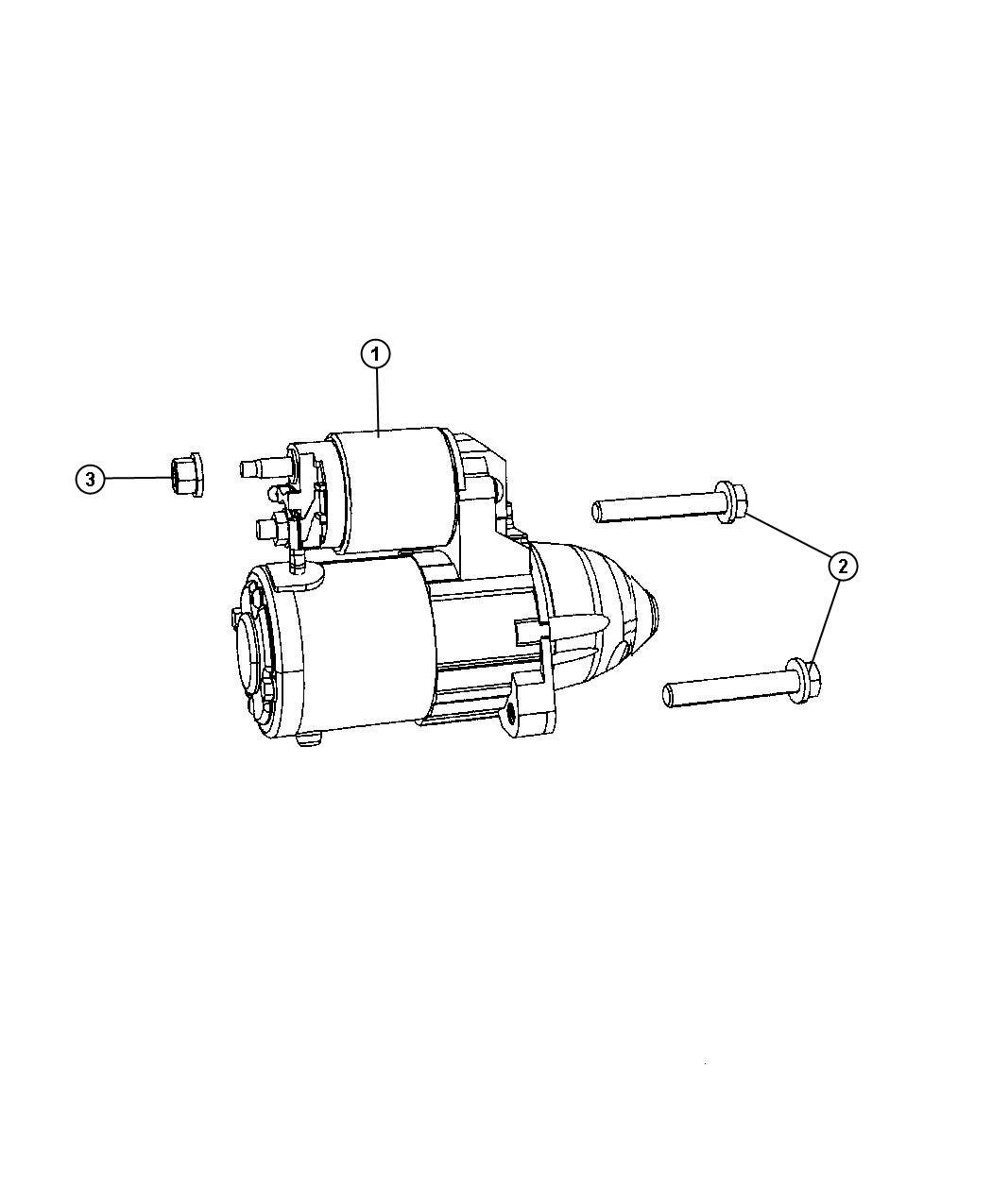 Dodge Caliber Starter Engine Remanufactured Export