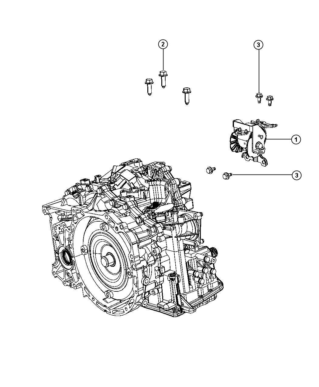 Jeep Compass Insulator Left Left Side Engine Mount