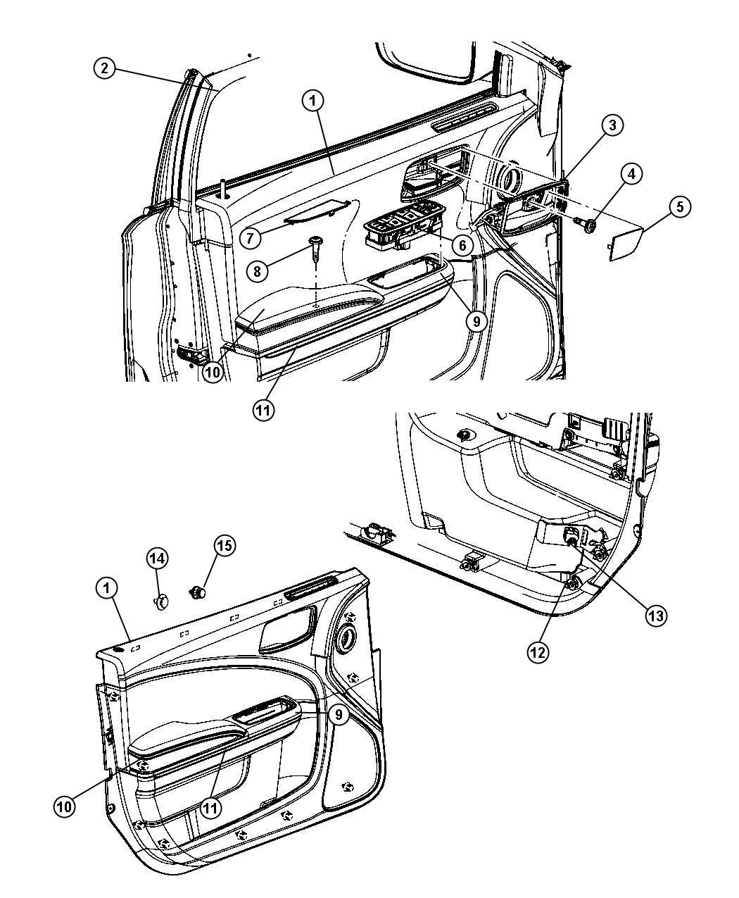 Dodge Charger Panel Left Front Door X9 Xss