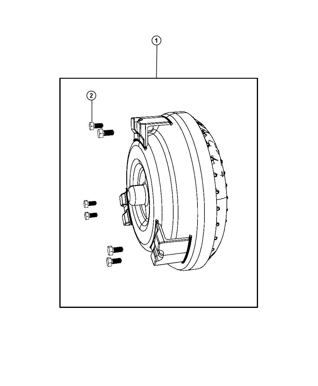 Dodge Charger Converter Kit Torque Transmission