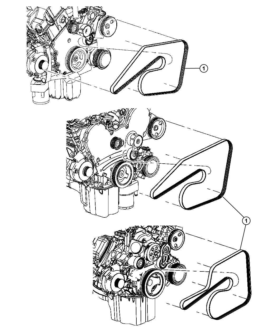 Jeep Commander Belt A C Compressor Accessory Drive
