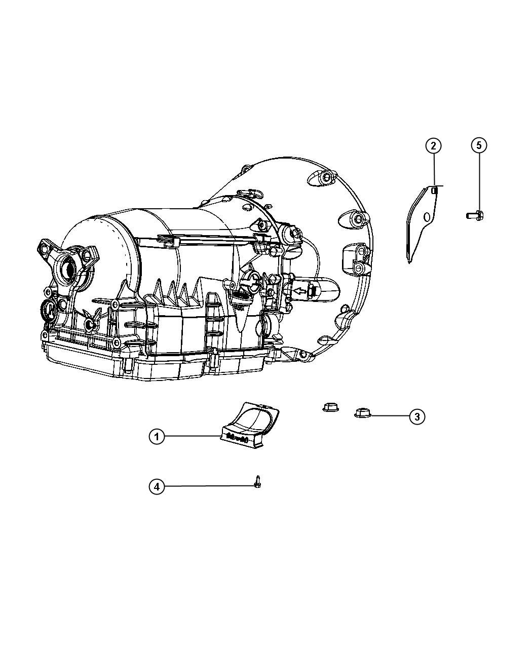 Dodge Charger Cover Transmission Dust Mounting Transfer