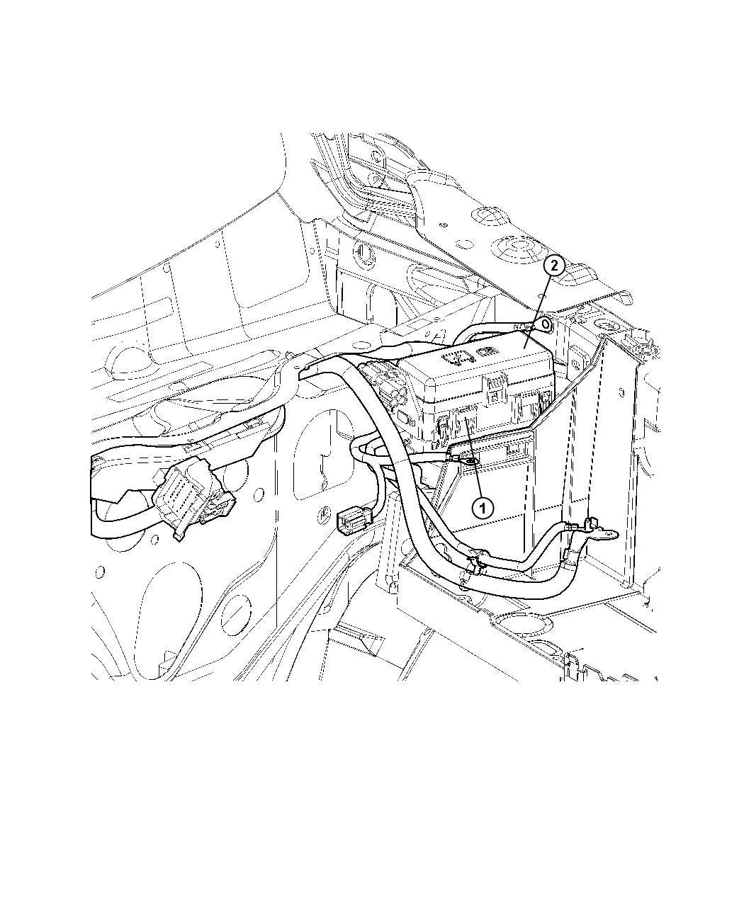 Dodge Ram Kit Auxiliary Power Distribution