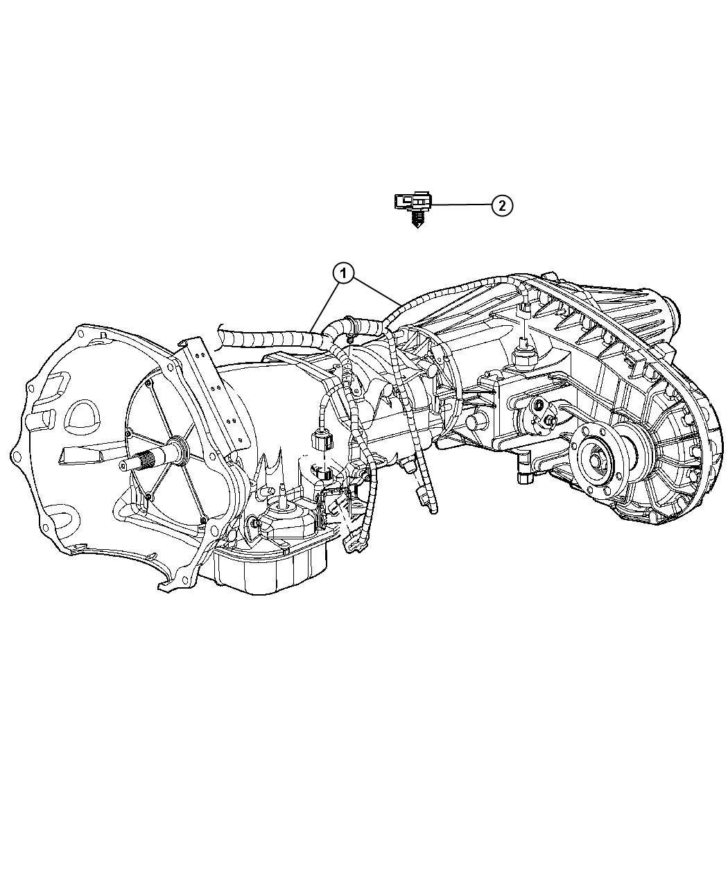 Dodge Ram Wiring Transmission Shift Transfer