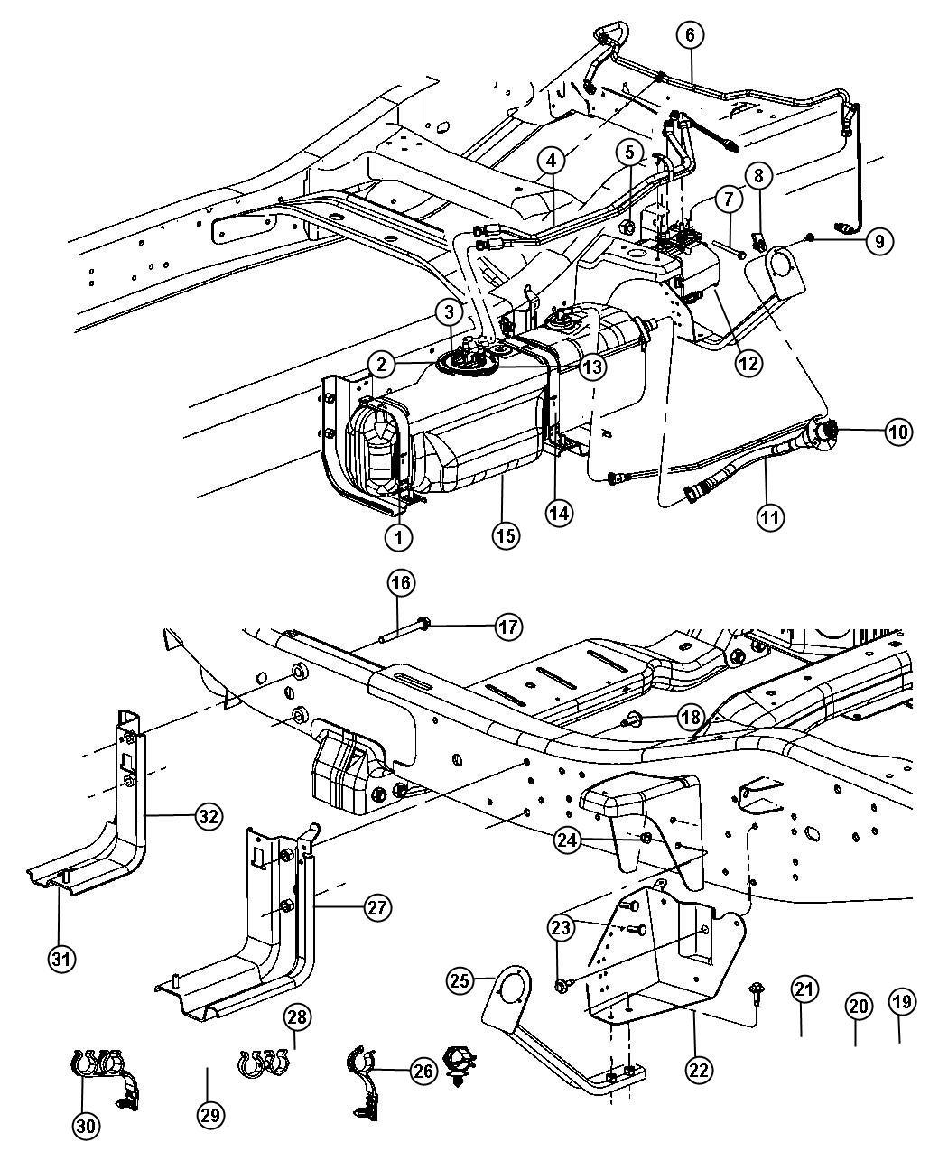 Dodge Ram Tanksel Exhaust Fluid