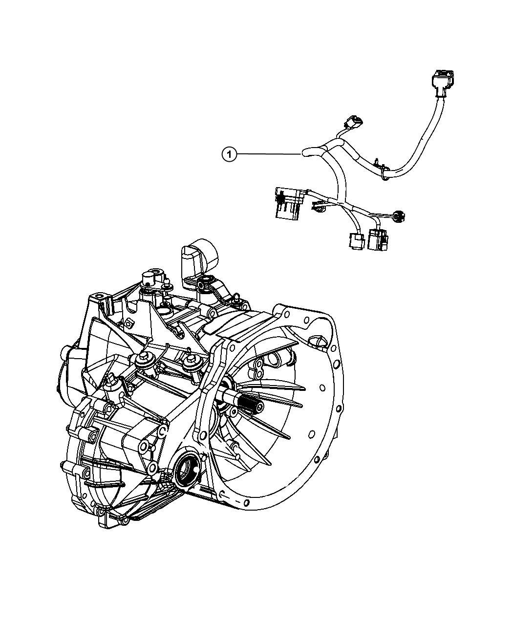 Dodge Journey Wiring Engine Transmission Export