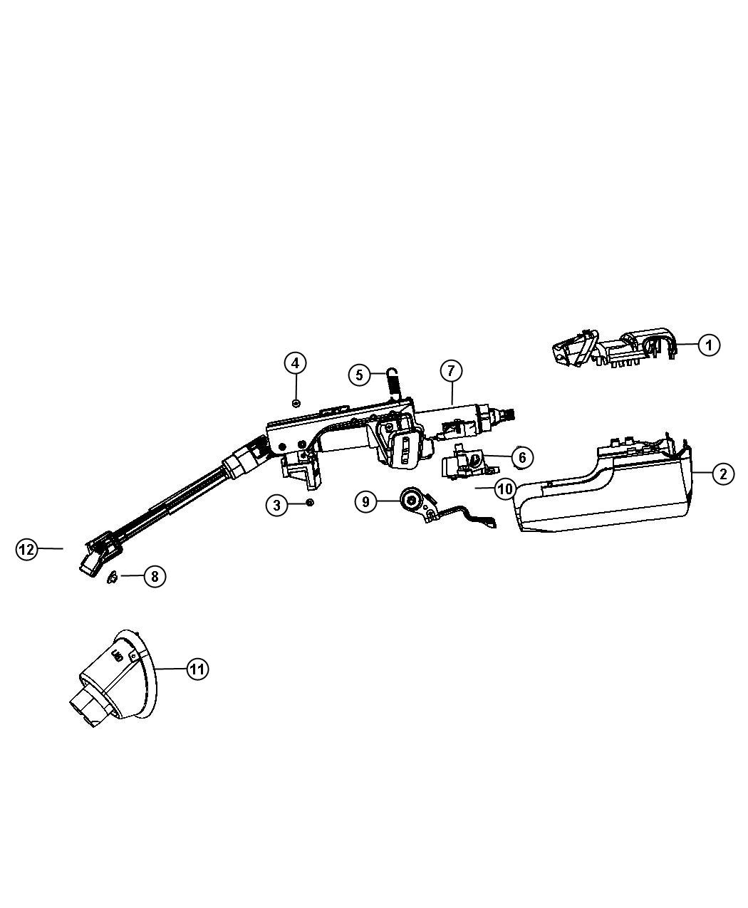 93 Jeep Steering Column Diagram