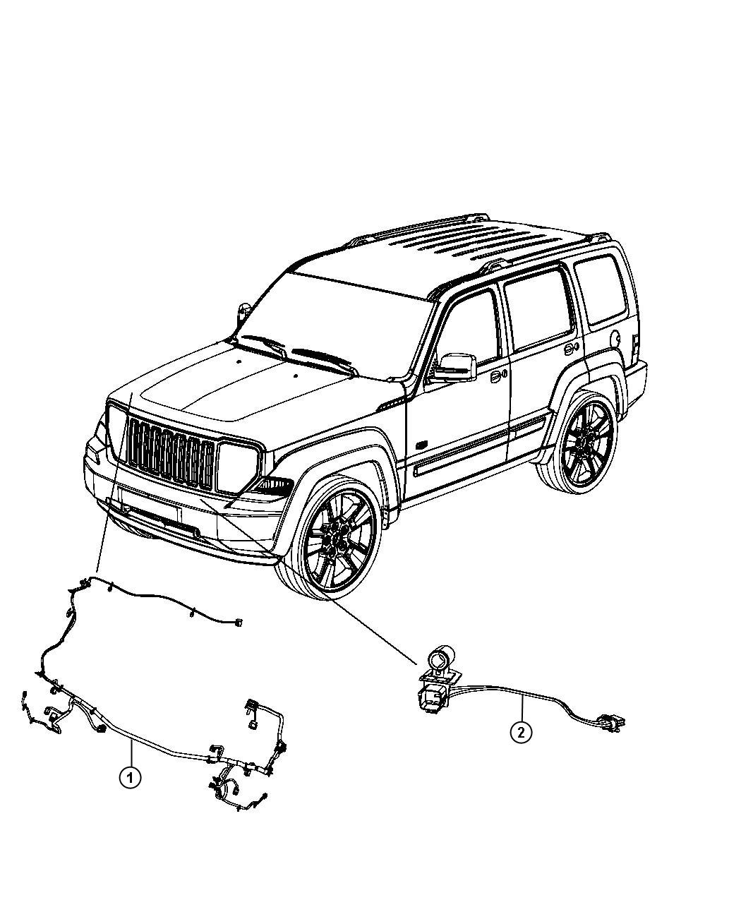 Jeep Liberty Wiring Fan Motor Contains Resistor