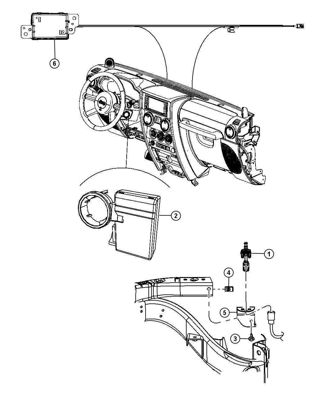 Jeep Wrangler Antenna Remote Start And Keyless Entry