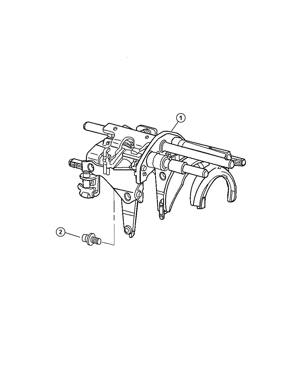 Jeep Wrangler Used For Fork And Rail Assy Manual