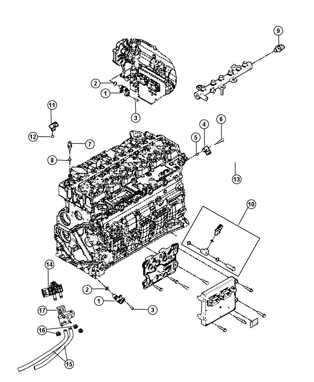Dodge Ram Adapter Switch Kit Oil Pressure