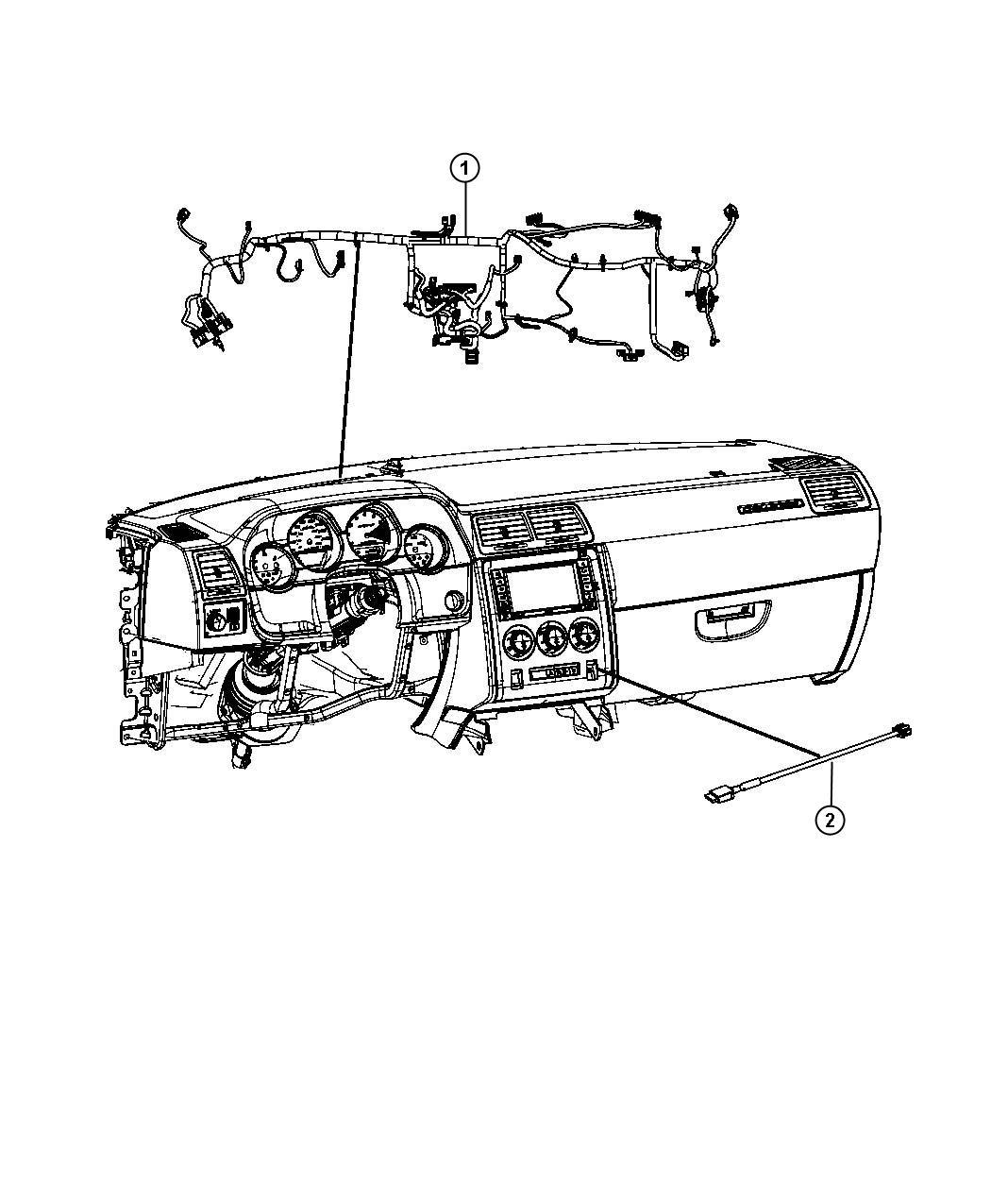 Dodge Challenger Wiring Jumper Module Remote Usb