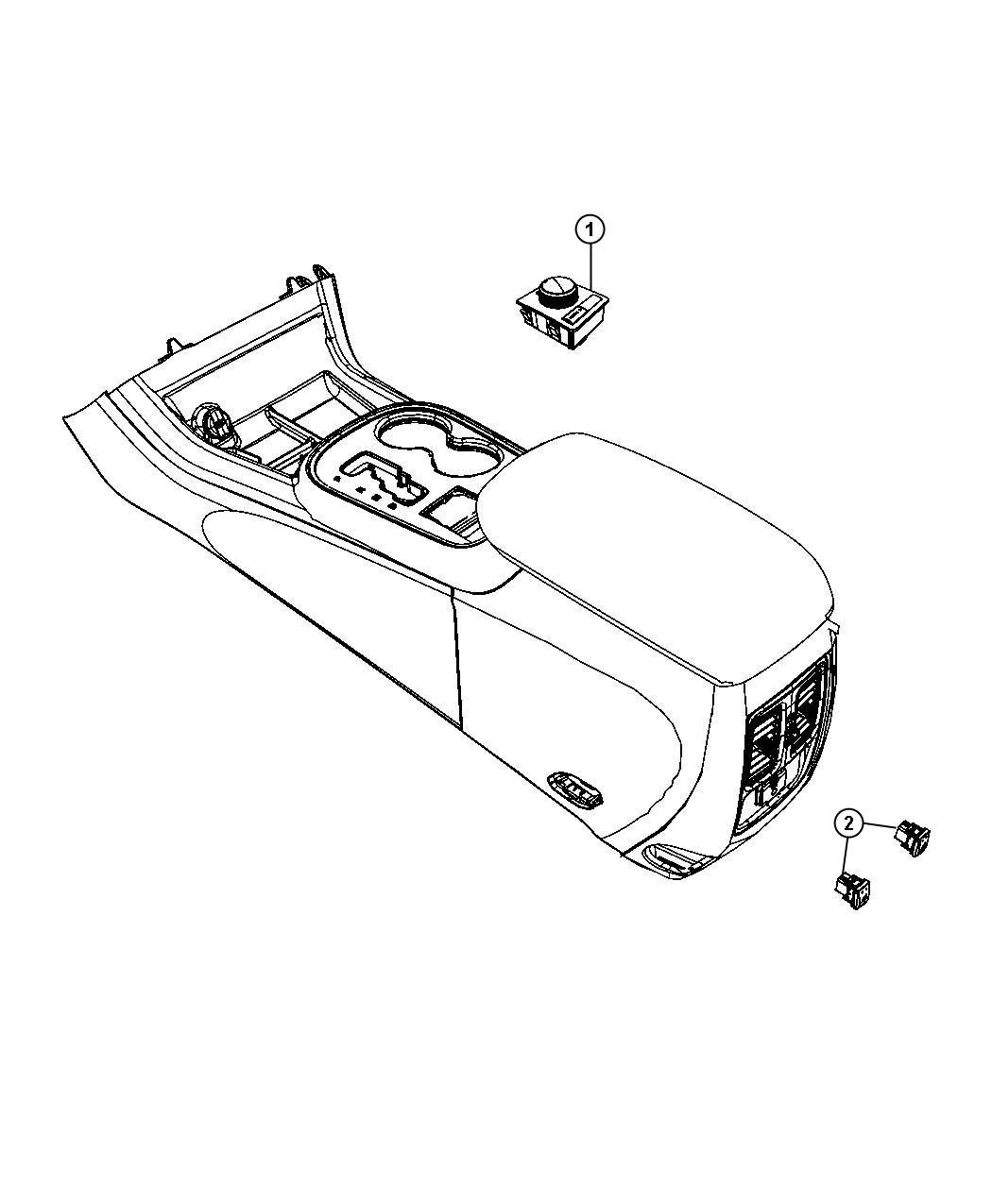 Jeep Grand Cherokee Switch Transfer Case Quadra