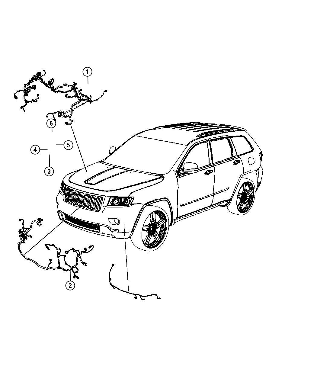 Jeep Grand Cherokee Wiring Headlamp To Dash Export Bi