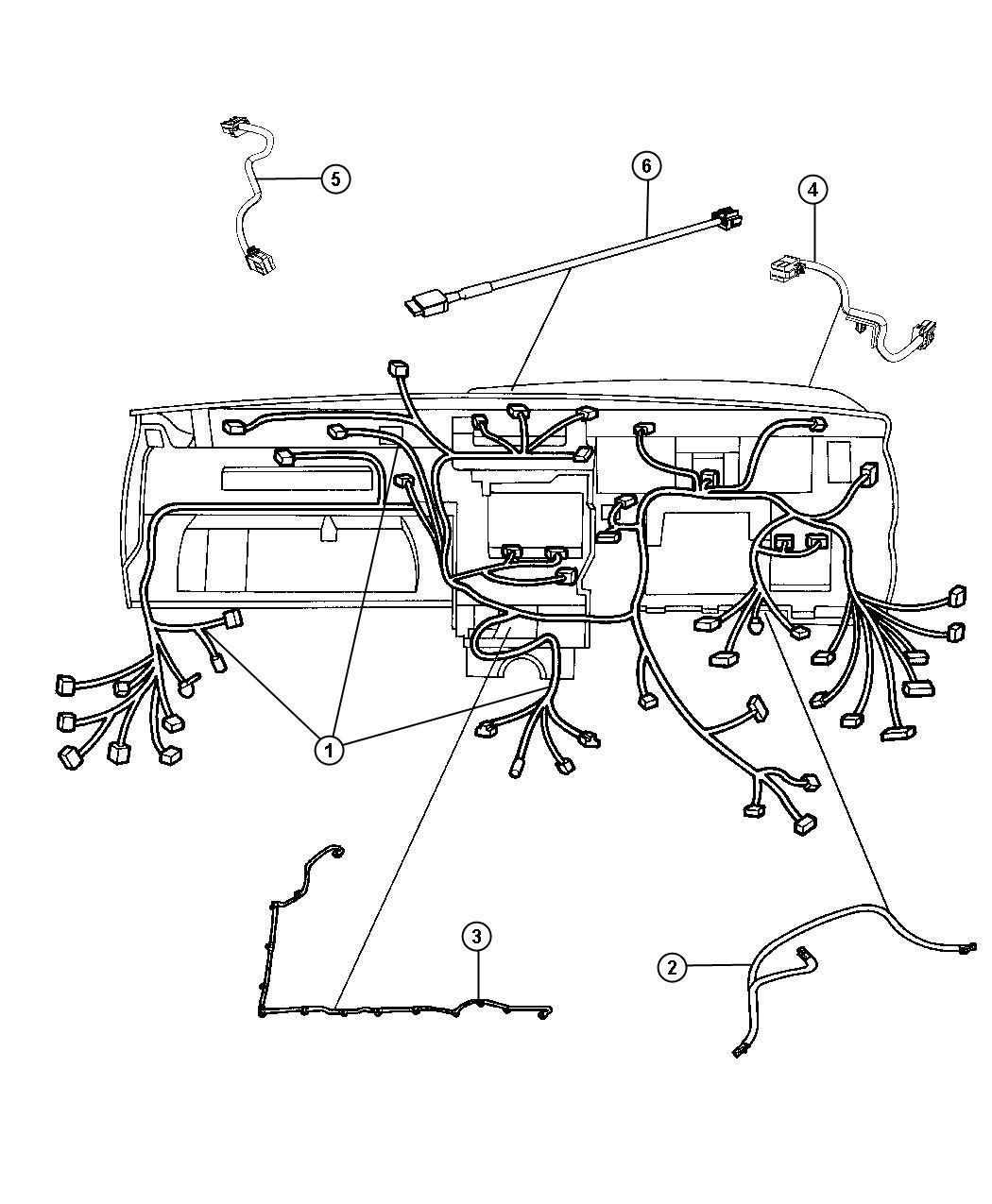 Jeep Grand Cherokee Wiring Jumper Instrument Panel