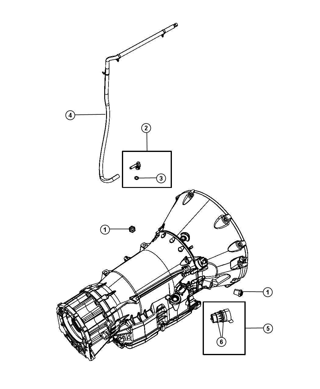 Dodge Durango Vent Transmission Case