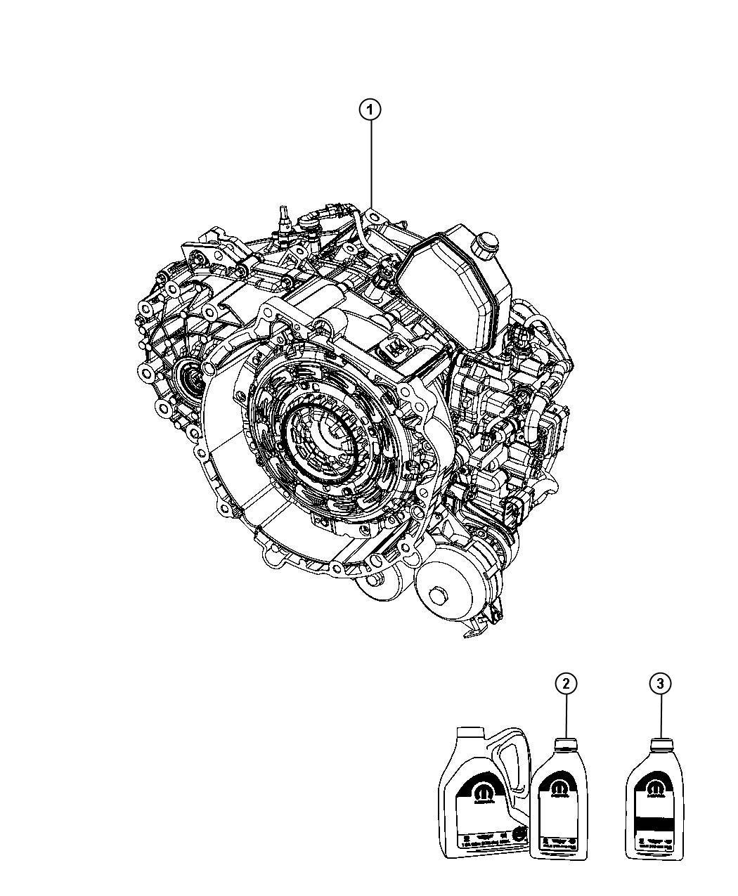 Dodge Avenger Transmiss Transaxle Transmission