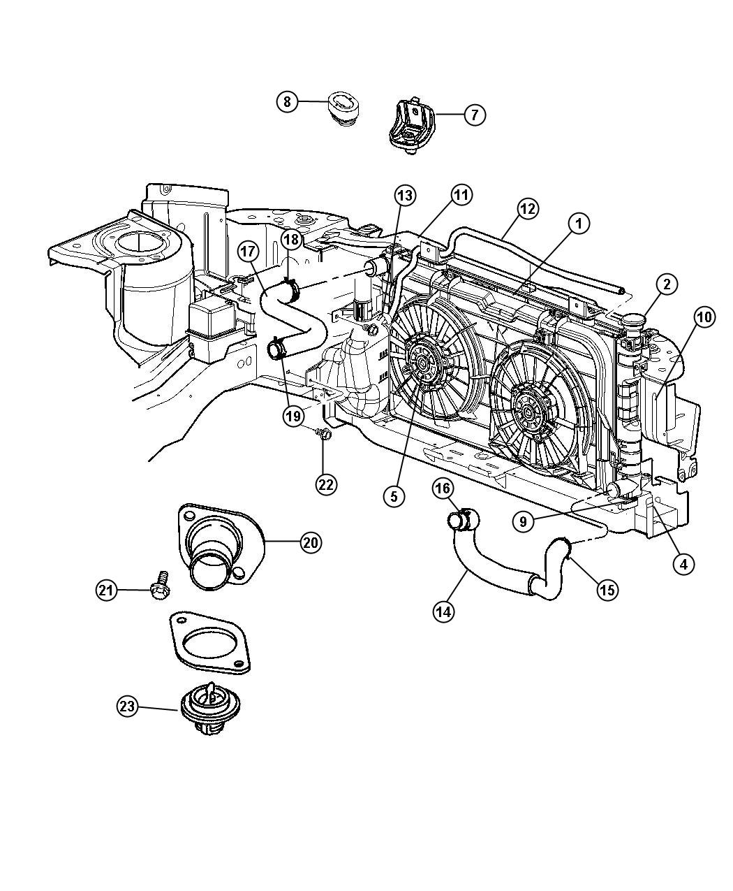 Chrysler Town And Country Air Conditioning Diagram