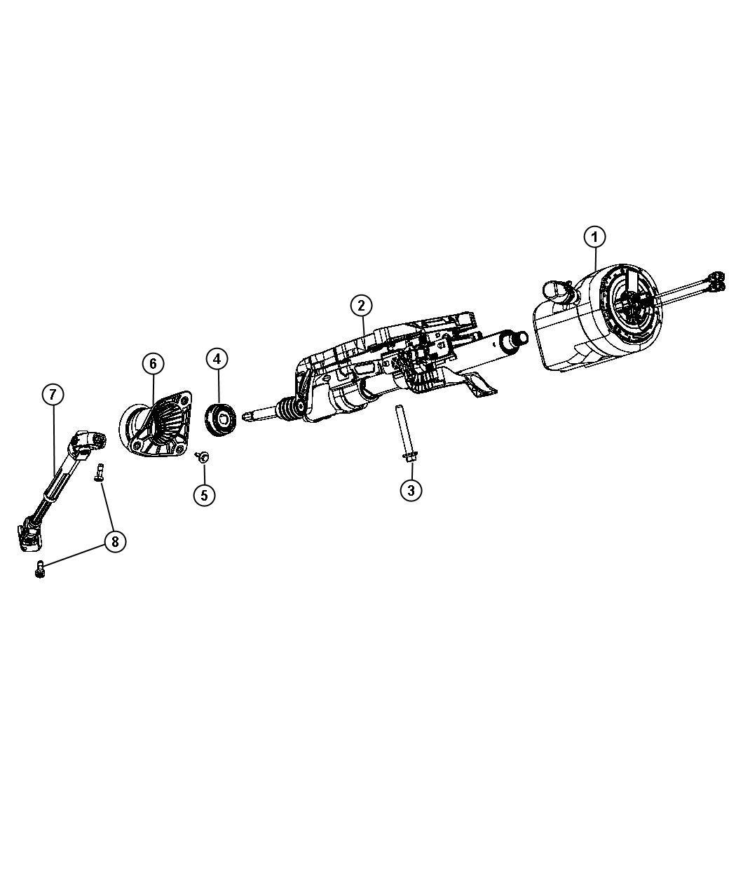 Jeep Grand Cherokee Bearing Steering