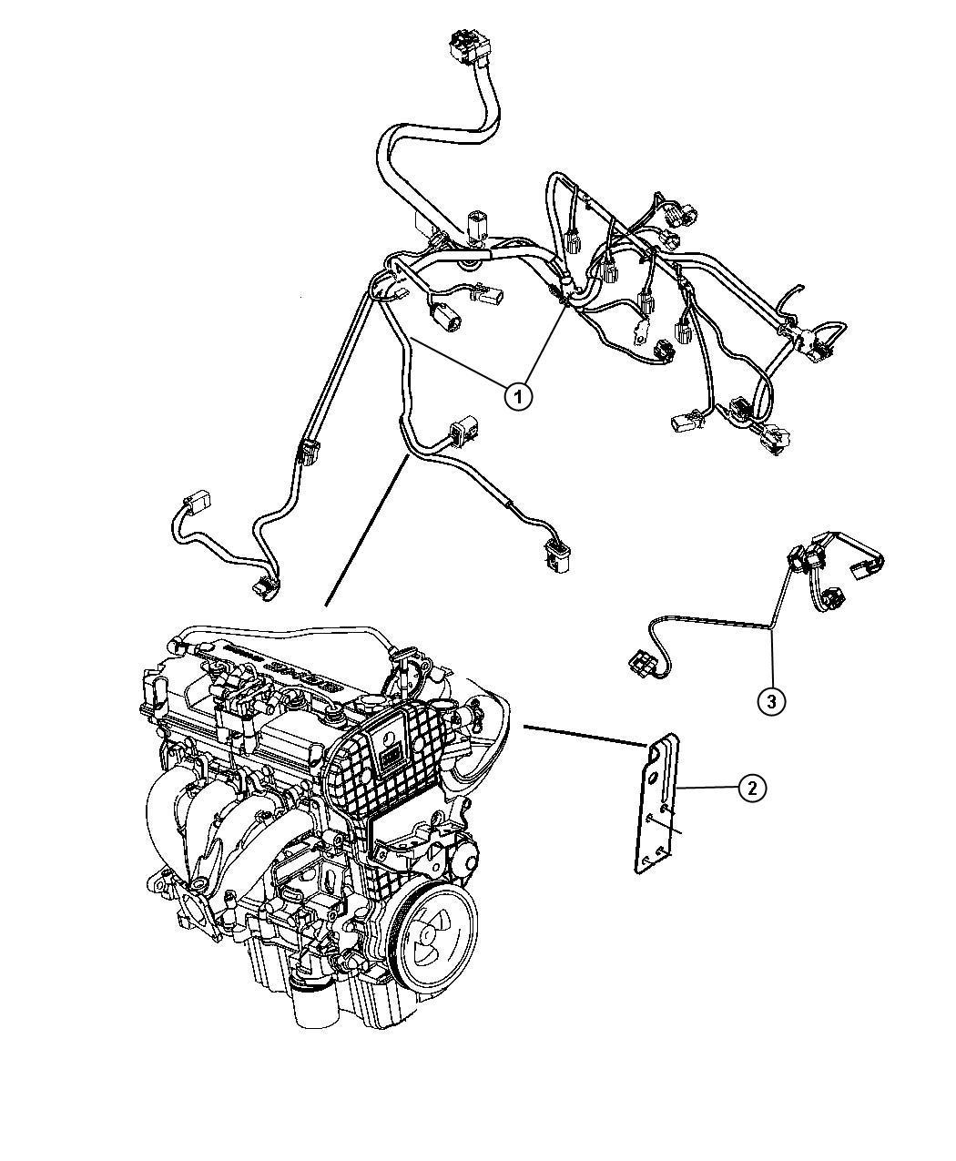 Chrysler Sebring Wiring Engine Vvt Dual Electrical