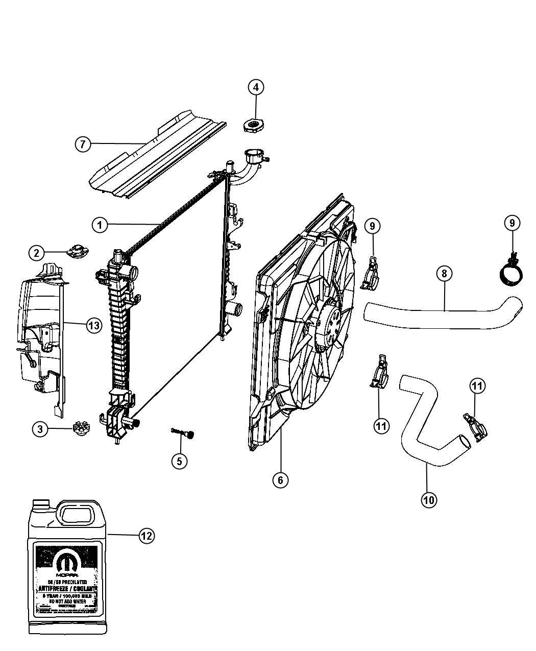 Jeep Grand Cherokee Draincock Radiator Export