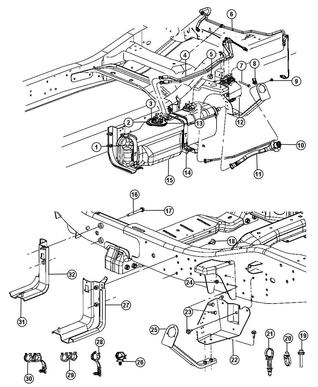 Dodge Ram Pumpsel Exhaust Fluid Catalytic