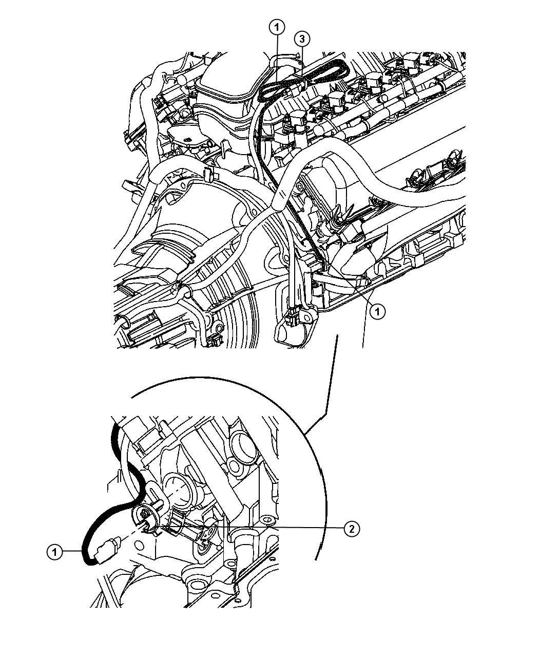 Jeep Grand Cherokee Cord Engine Block Heater