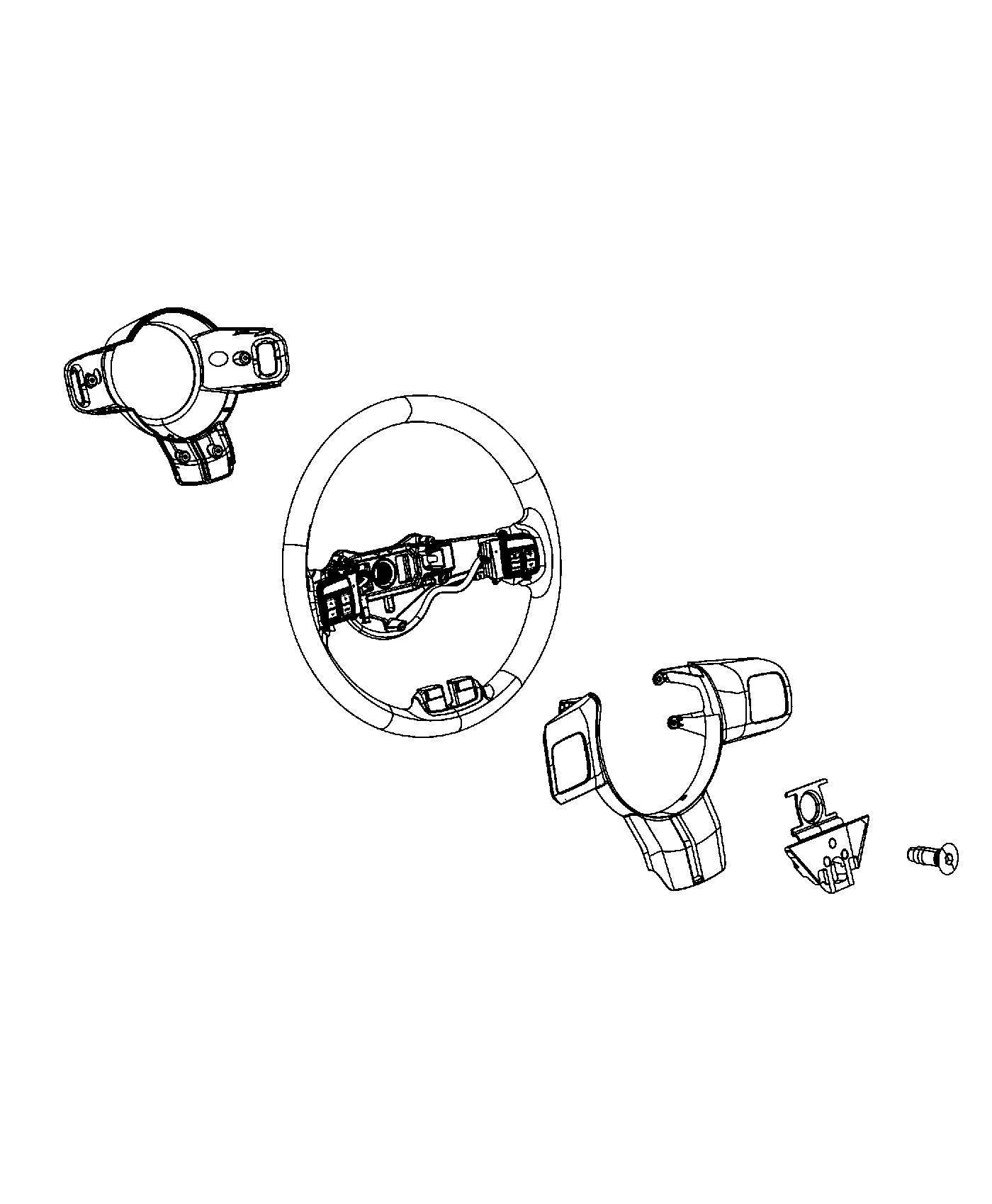 Jeep Grand Cherokee Damper Steering Wheel Assembly