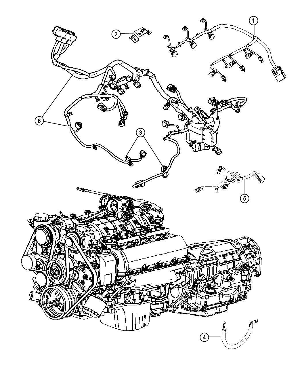 Jeep Grand Cherokee Wiring Engine Gas Powertrain
