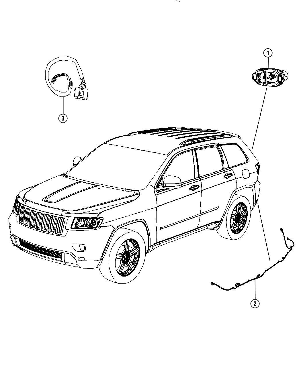 Jeep Grand Cherokee Connector 7 Way Tow Trailer Wiring