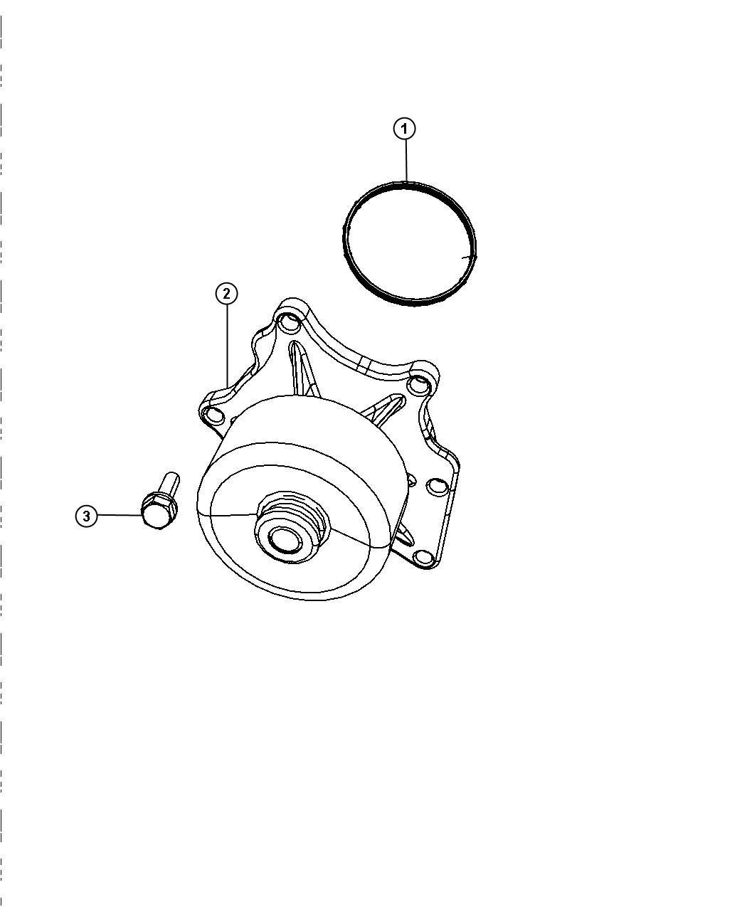 Dodge Viper Gasket Water Pump Engine Kits Ewe