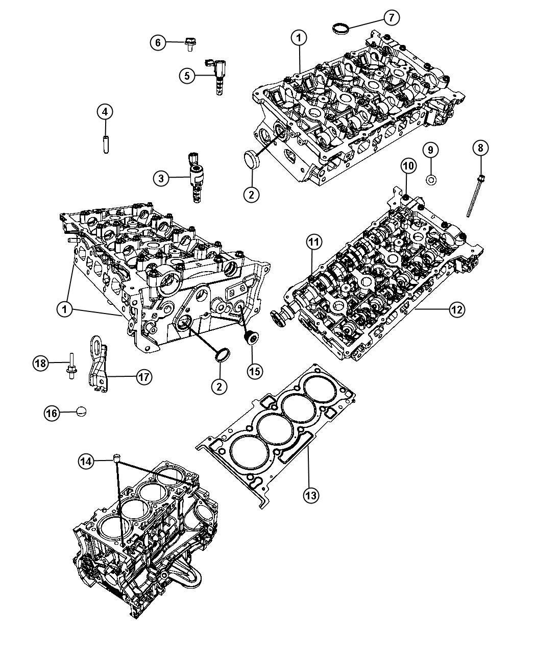 Jeep Compass Plug Core Cylinder Block Coolant Drain